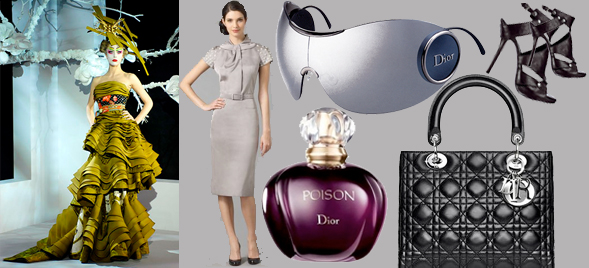 Dior bag perfume couture sunglasses